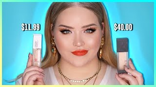 $11.99 FOUNDATION VS. $40 FOUNDATION: Who Wins ???