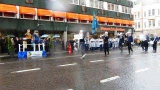 Partioparaati 2014 Turku   Osa 2 Ohimarssi Linnankadulla