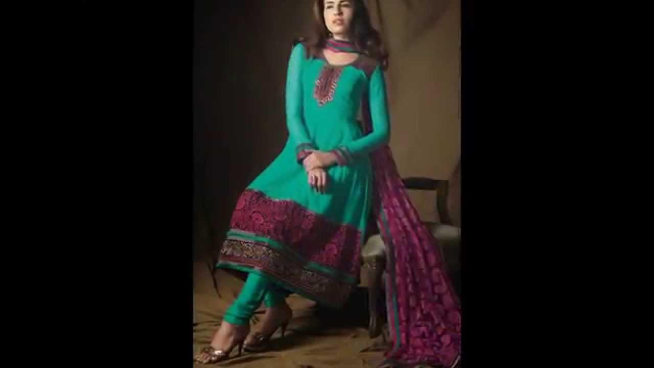 55e1c443dc6fd اجمل الازياء والملابس النسائية الهندية لصيف 2014 - YouTube