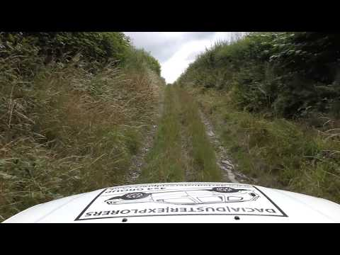 Green Lanes in a Dacia Duster (4K) - Acton Bank, Acton, Shropshire