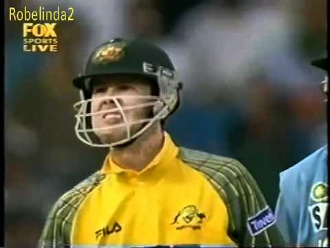 6666666 in a row, Ricky Ponting in India, unbelieveable hitting.
