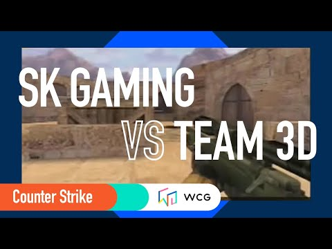 2003 Grand Final Final : Counter-Strike match: SK(Sweden) vs 3D(USA)  R1