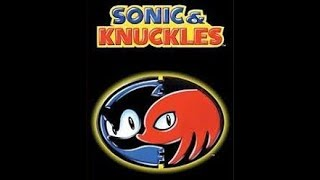 Sonic and Knuckles level skip menu