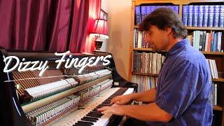 Dizzy Fingers - Ragtime Piano Solo - David Hicken / Zez Confrey