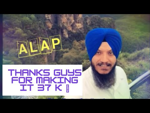 Must see New Alap By Bhai Harvinder singh Delhi