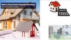 What is Real Estate Financial Modeling? (21:52)