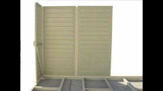 Duramax 4x8 Sidemate Vinyl Storage Shed Kit Video