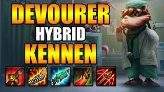 DEVOURER HYBRID KENNEN JUNGLE! - League of Legends (WILL IT JUNGLE? #4)