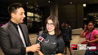 Exclusive Anne Curtis at LAX talks Blood Ransom, Runyon Canyon, Kiss With Vhong & Fashion Tips