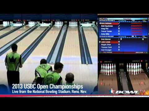2013 Open Championships: Nicholas J's Pro Shop team event