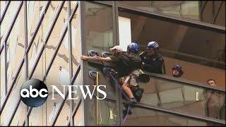 Trump Tower Climber Captured