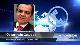 Entrevista con el Dr. Óscar Iván Zuluaga en Cosmovisión Noticias Fin de Semana