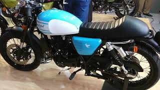 Cleveland Cyclewerks Ace Cafe 250 - Q2 2018 Launch, Under 2.5 Lakh - Auto Expo 2018 #shotononeplus