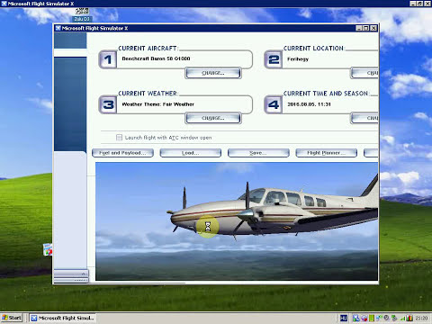 Flight Simulator X(FSX) realtime Google Earth tracking with FSXGET tutorial step by step