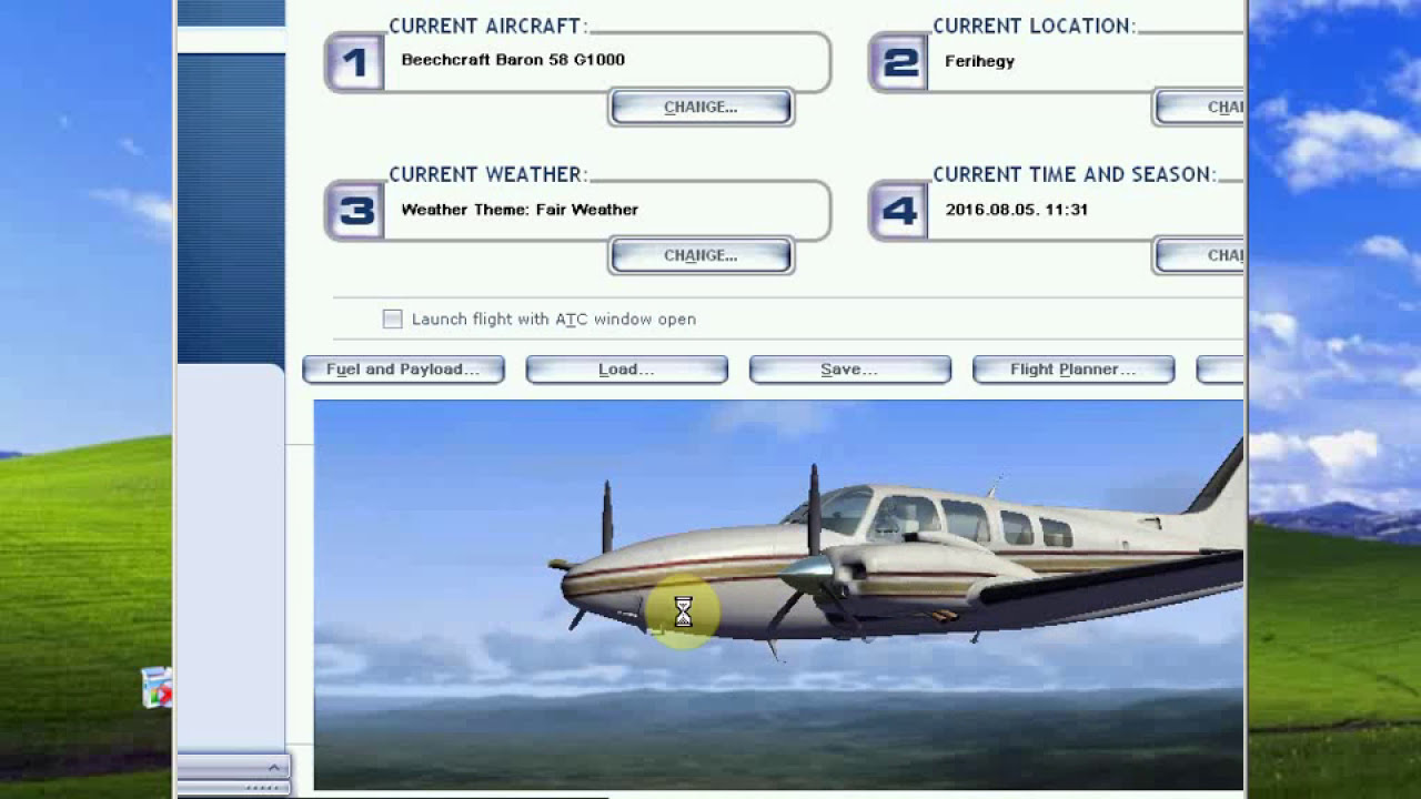 Flight Simulator XFSX Realtime Google Earth Tracking With FSXGET - Real time maps google earth