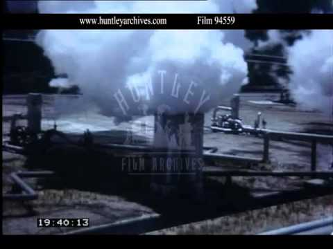 Geothermal Energy New Zealand, 1960s - Film 94559