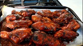 One Of The Jamaicans Top 10 BBQ Chicken Recipe & Video Ever