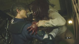 ZOMBIES MUY AVENTADOS 😆 - RESIDENT EVIL 2 REMAKE Ep.4