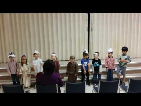 Sanlando Christian School Kindergarten Thanksgiving Feast Performance 2016