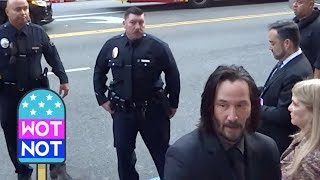 Keanu Reeves Treats Fans To Photos And Autographs Ahead Of John Wick Chapter 3 Parabellum Premiere