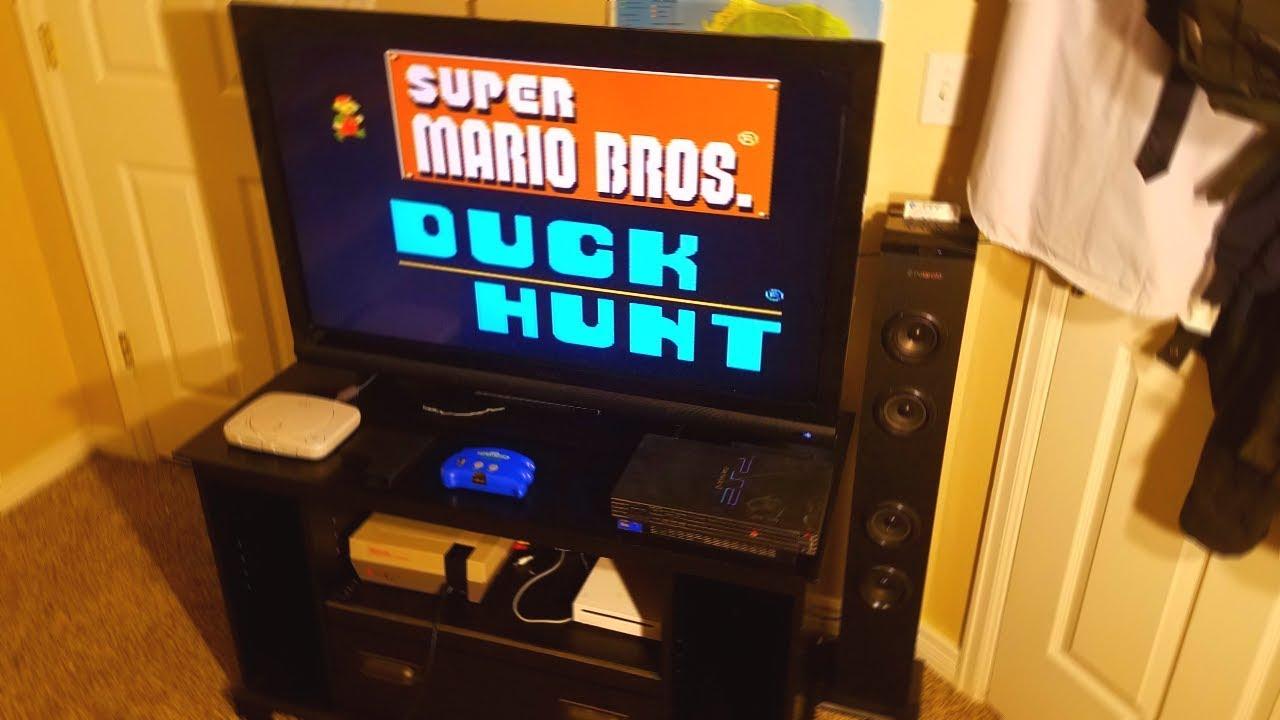 Retro Gaming Room Setup
