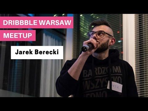 Jarek Berecki @ 4. Dribbble Warsaw Meetup - Paper Prototyping w praktyce