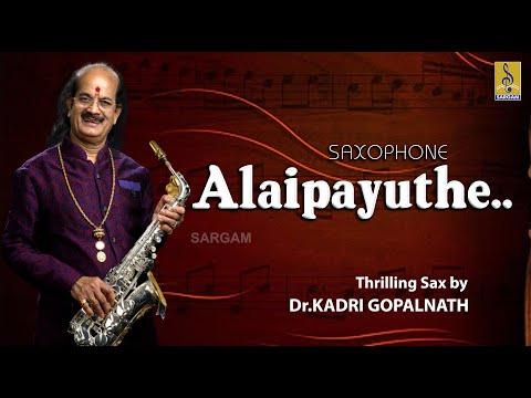 Carnatic classical Music by Dr. Kadri Gopalnath | Saxophone Alaipayuthe Jukebox