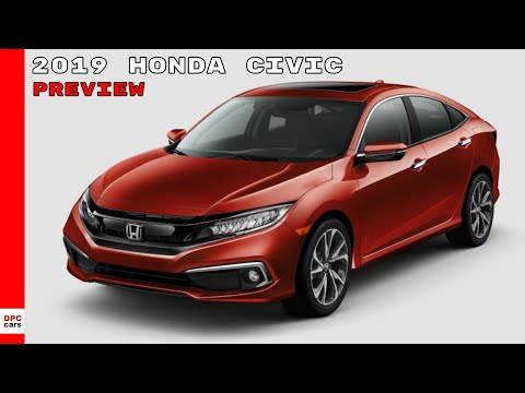 2019 Honda Civic Sedan and Coupe Preview - 동영상