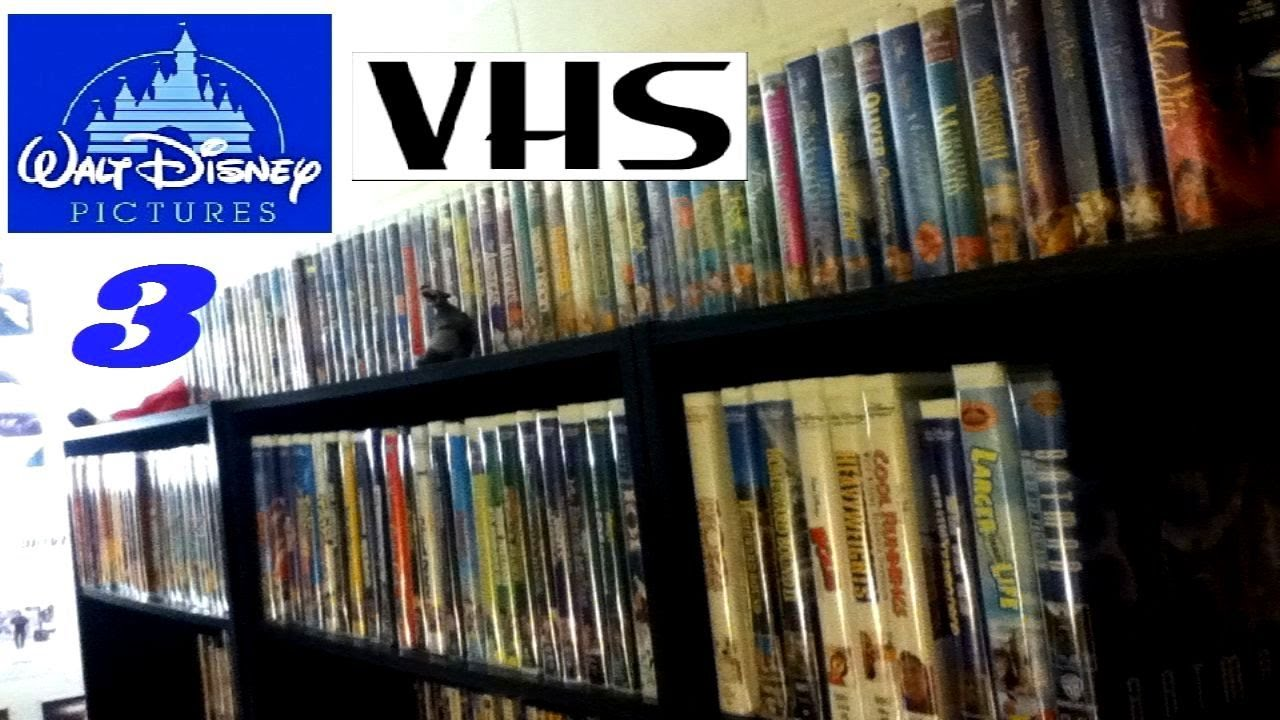 Disney Vhs Collection 2016 Updated Youtube