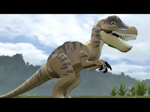LEGO Jurassic World - All Playable Characters and Dinosaurs Unlocked