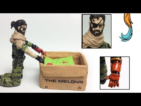 Metal Gear Solid -Venom snake - figure Tutorial! - Item Inventor