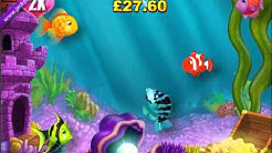 £441.60 MEGA BIG WIN (421 X STAKE) GOLD FISH™ JACKPOT PARTY® BEST ONLINE SLOT GAMES