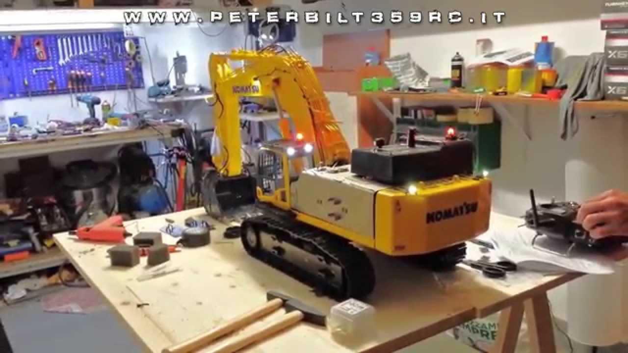Excavator Hydraulic Komatsu Pc800 Rc 1 14 First Test Sound
