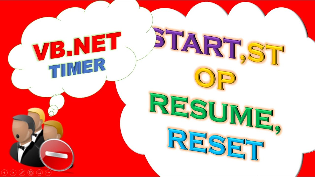vb net timer and progressbar ep 01 start resume stop and reset