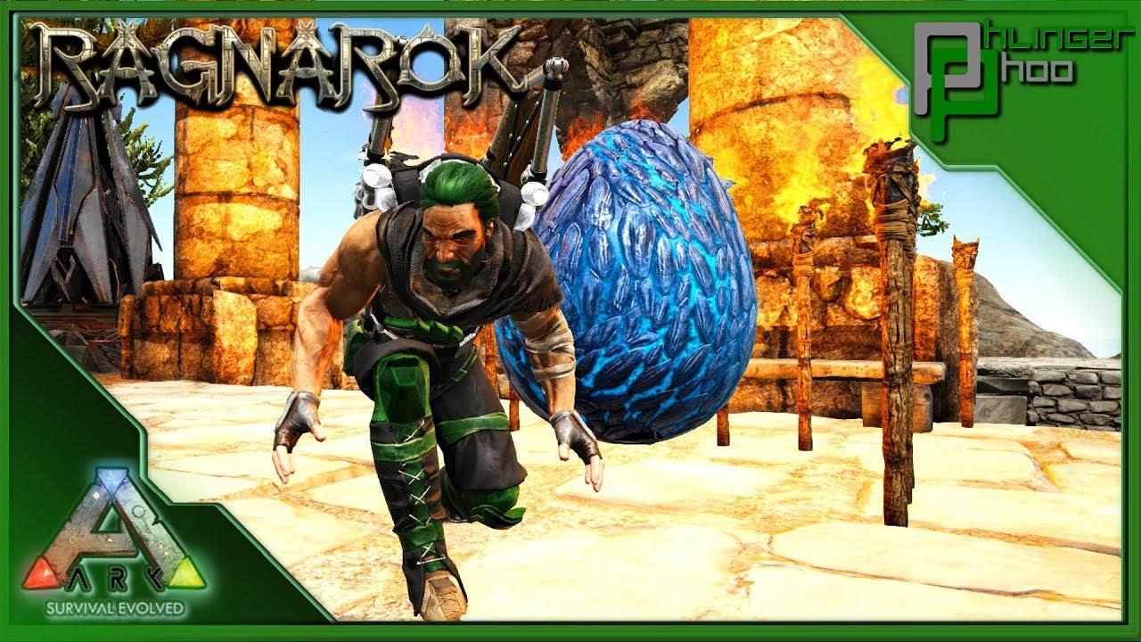 Download WYVERN EGGS, HATCHING MY LIGHTNING WYVERN! Ark: Ragnarok/Aberration/Extinction Cluster 26