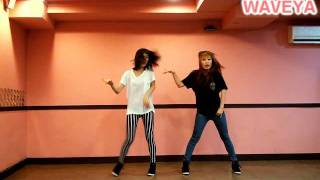 Waveya k-pop dance tutorial 2ne1- I AM THE BEST