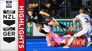 New Zealand v Germany | Week 5 | Men's FIH Pro League Highlights