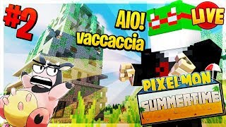 Let's Go GIOVAMMINO! - Pixelmon Summer Time #2 (Minecraft Roleplay ITA) [LIVE]