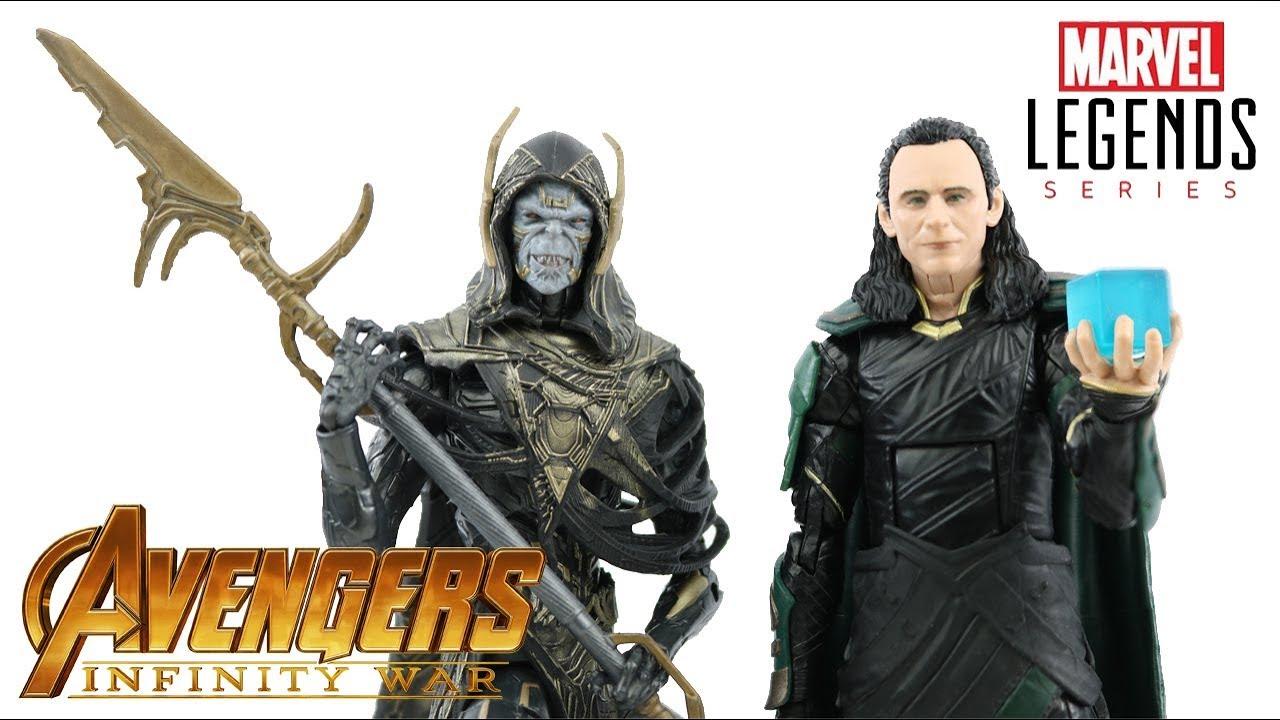Marvel Legends Corvus Glaive Loki 2 Pack Avengers Infinity guerre WALMART EXCLUSIVE