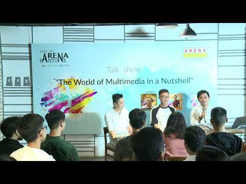 "Talkshow ""The World of Multimedia in a Nutshell"""