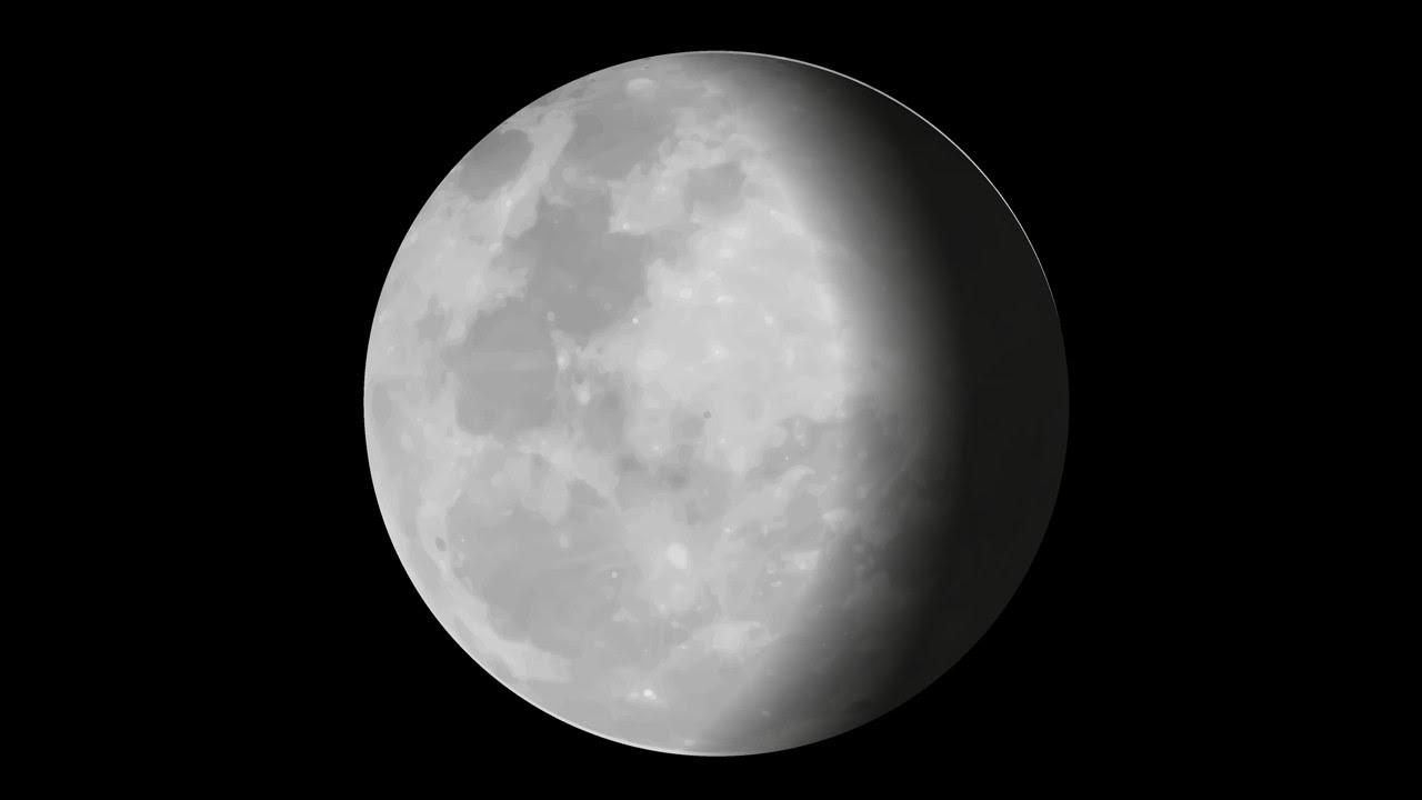 Fases de la Luna - Información y Características - Geografía