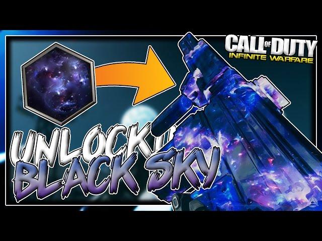 UNLOCKING BLACK SKY CAMO on X-EON! [Infinite Warfare Road To Black Sky Camo]