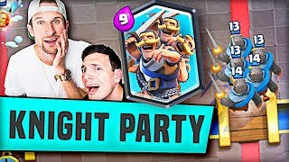 KNIGHT PARTY (Clash Royale) Molt & Nick