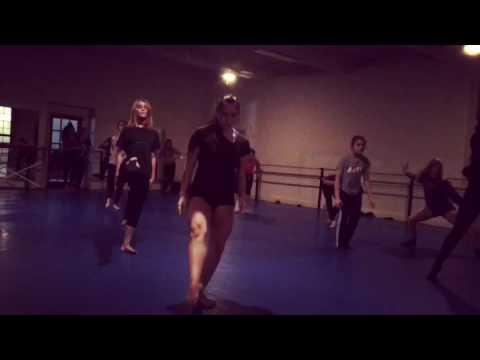 Class at Planet Dance CIncinnati Contemporary 3/4 w/ the Hubbards
