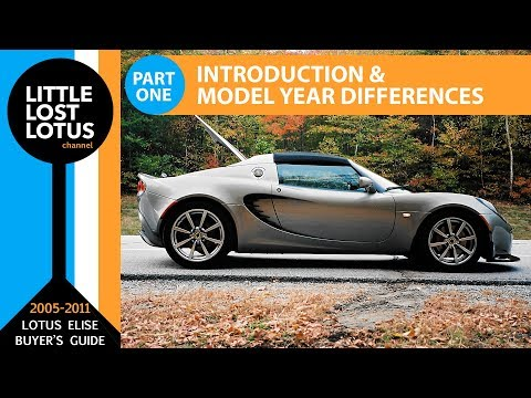 How to Buy a Lotus Elise: Model Year Differences & Where to Shop