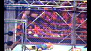 WWE No Way Out 2012 - John Cena vs. Big Show Steel Cage Match (Full Match)