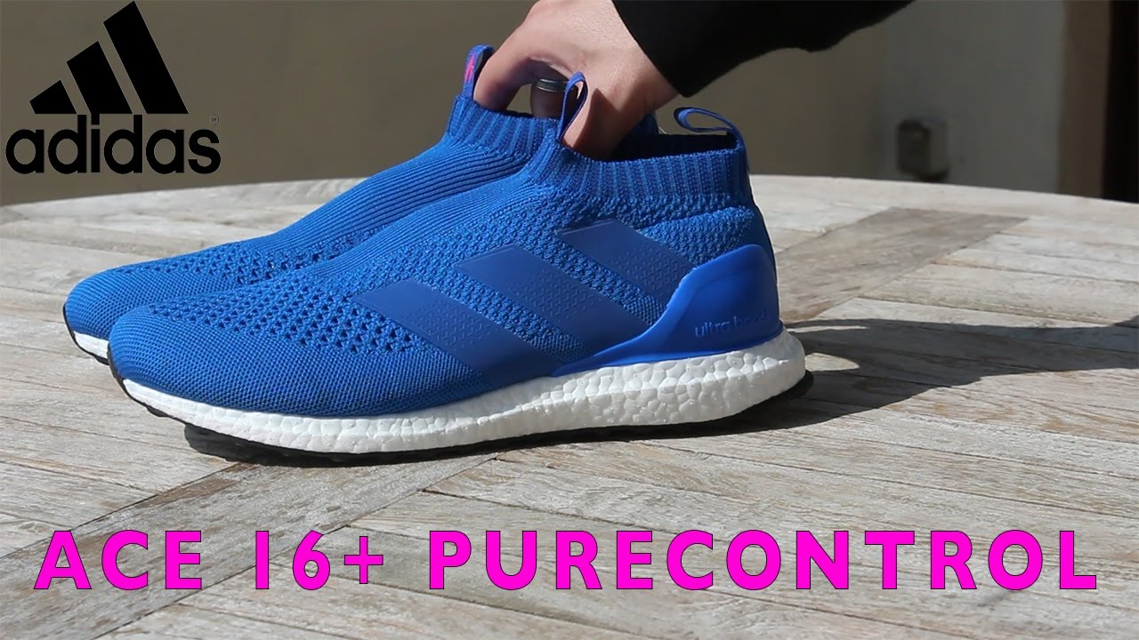 f3d6eac10cfa1 Adidas ACE 16+ PURECONTROL ULTRA BOOST (unboxing) - YouTube