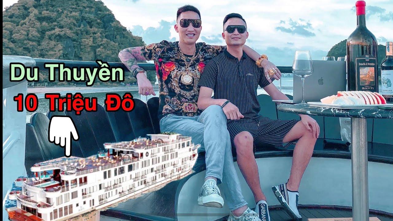 Huấn Hoa Hồng Cùng E Tài Bánh Quậy Tung Du Thuyền 10 Triệu $