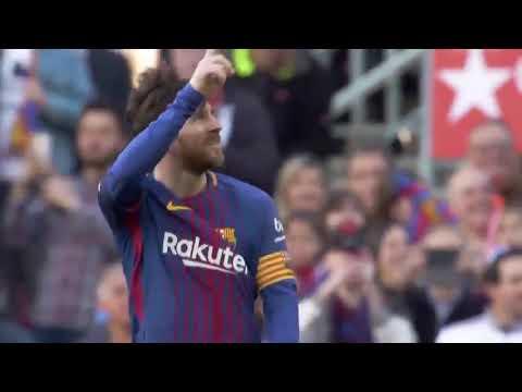 Lionel Messi Funny Goal Celebration Dance FC Barcelona vs Athletic Bilbao