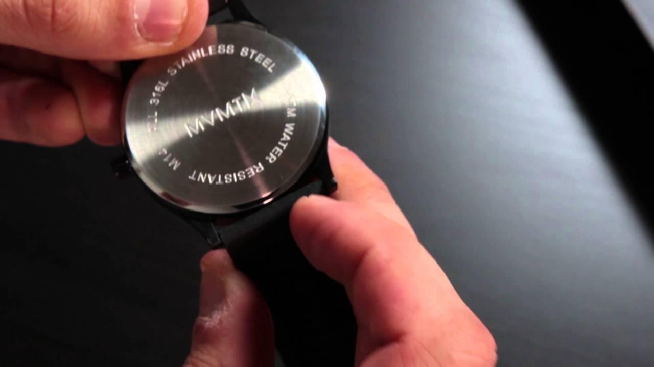3e1769e28ef61f How to Change MVMT Straps | Men's Classics (Short) - YouTube